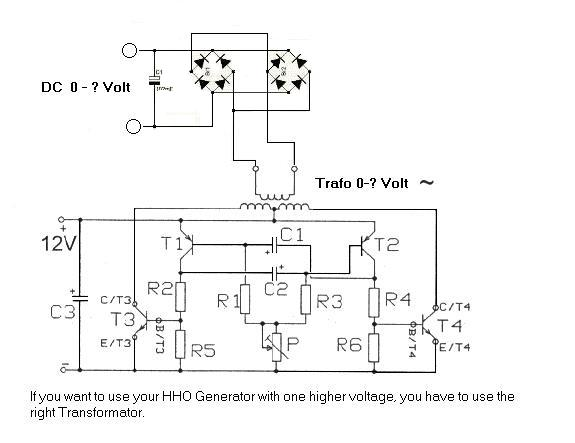 HHO generator power supply. on